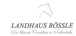 Landhaus Rössle - Auszubildender Hotelfachmann (m/w)