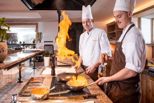 Bio- und Wellnessresort Stanglwirt - Küche